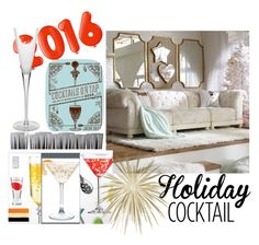 """""""Holiday"""" by cocojeansblog on Polyvore featuring interior, interiors, interior design, home, home decor, interior decorating, PBteen, Dot & Bo, Molecule-R and William Yeoward"""