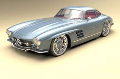 Cars from the computer - Bo Zolland Design - Mercedes - Autos Mercedes Auto, Mercedes Benz Maybach, Mercedes Benz Autos, Auto Design, Design Autos, Design Design, Modern Design, Classic Sports Cars, Classic Cars