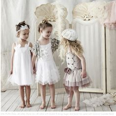 Love Tutu du Monde - they have the most angelic dresses and tutus for little girls