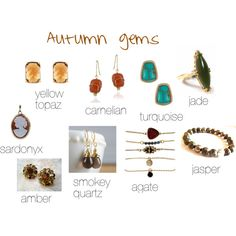 Autumn gems by expressingyourtruth on Polyvore featuring Kenneth Cole, Brooks Brothers, Enduring Jewels and Del Gatto