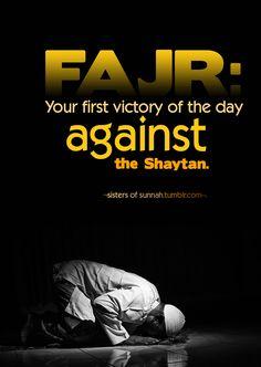 Fajr prayer is not bestowed to everyone