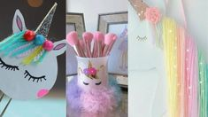 DIY Unicorns Ideas - Easy Crafts Ideas at Home - Should See DIY Unicorns