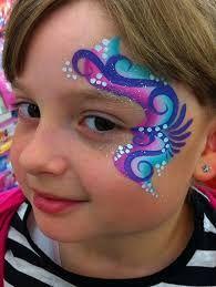 Resultado de imagen para rainbow face paint kids