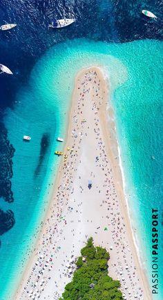 Zlatni Rat, Croatia's most famous beach