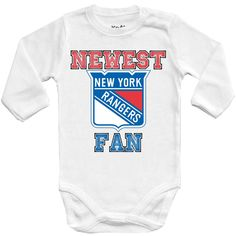 Nhl New York Rangers Bodysuit Romper Jumpsuit Outfits 3 Piece Set Newborn Kids 2019 New Fashion Style Online Clothing, Shoes & Accessories