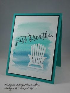 Windy's Wonderful Creations: Just Breathe and Happy Mother's Day!, Stampin' Up!, Colorful Seasons, Seasonal Layers thinlits dies
