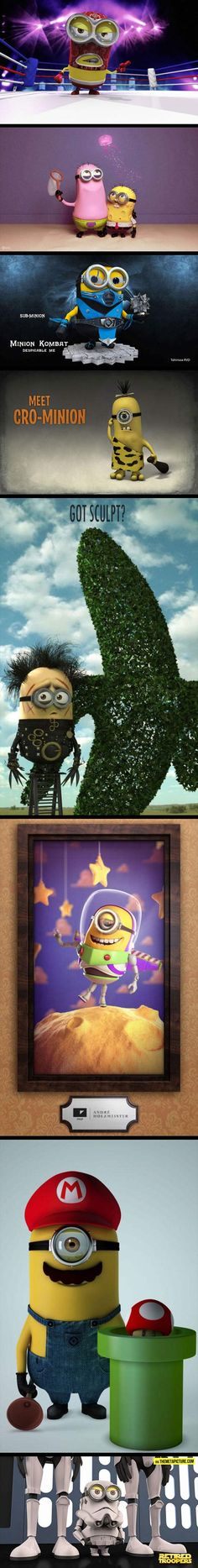 Funny pictures about For Minion lovers. Oh, and cool pics about For Minion lovers. Also, For Minion lovers. Cute Minions, Minions Despicable Me, Charlie Chaplin, Minion Characters, The Funny, Nerdy, Funny Pictures, Funny Images, Geek Stuff