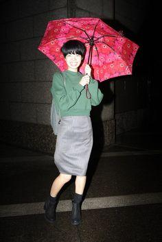 Tokyo Fashion Week street style. [Photo by Giovanni Giannoni]