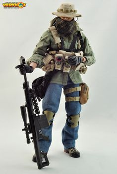 onesixthscalepictures: Very Hot PMC Sniper : Latest product news for 1/6 scale figures (12 inch collectibles).