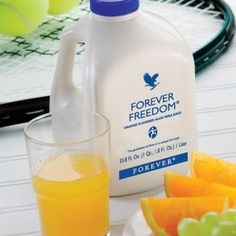 Forever Freedom With all the nutrients of Aloe Vera Gel combined with glucosamine, chondroitin, and MSM, this delicious orange-flavoured drink is ideal for those interested in mobility. Contains vitamin C which contributes to the reduction of tiredness and fatigue and provides great nutritional support for sports and active lifestyles.