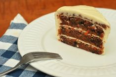 Bourbon Carrot Cake - StirringStew.com
