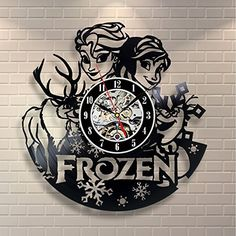 Frozen Wall Vinyl Record Clock Room Art Home Decor, http://www.amazon.com/dp/B01BWWTSIO/ref=cm_sw_r_pi_awdm_0cTtxbHZQ7EXX