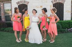 #bridesmaids {Kristen Dee Photography}