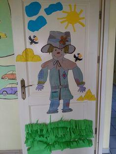 Happy scarycrow