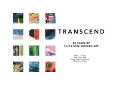 Visual Arts Centre – Transcend – 50 Years of Singapore Modern Art