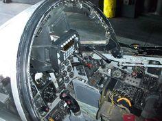 Phantom F-4 cockpit.!