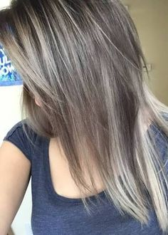 Ash Brown Hair Color With Blonde Highlight - 60 Great Brown Hair With Blonde Highlights Ideas Ash Brown Hair Color, Brown Blonde Hair, Hair Color And Cut, Brunette Hair, Golden Blonde, Hair Colour, Brown Hair Going Grey, Brown To Grey Ombre, Colorful Hair