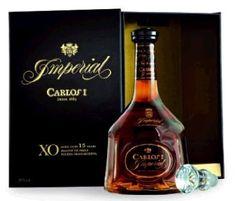 Brandy CARLOS I Imperial XO 15 Years in Karaffe 70 cl / 38 % Spanien