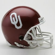 University Of Oklahoma Mini Replica Helmet $25.99