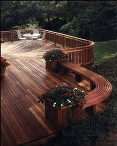 Gazebo and Deck Design, Backyard Remodeling, Exterior Design Exterior Design, Interior And Exterior, Outdoor Spaces, Outdoor Living, Magic Garden, Custom Decks, Diy Deck, Decks And Porches, Building A Deck