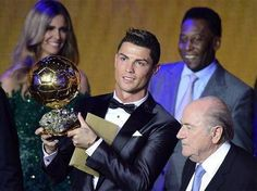 #CristianoRonaldo, #portuguese football player, Ballon d'Or 2013- the best in the world !