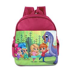3T - 6T Bright Color Toddler Shimmer And Shine Art School Bag...