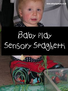Baby Play - Spaghetti Sensory Play