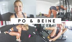 Vlog ♥ Follow me to the Gym ♥ Neues Po- Beine Training | Sophia Thiel
