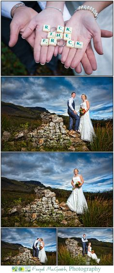 rock the frock donegal wedding photography donna and thomas