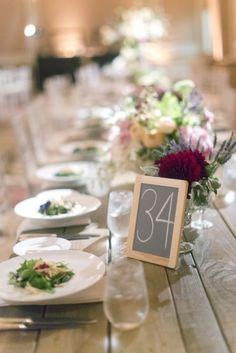 25 fabulosos numeros para mesas de boda que te servirán de inspiración! Y con la decoracion de mesas para bodas para complementarlos. No te los pierdas!!