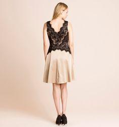 Sklep internetowy C&A | Sukienka, kolor:  beżowy | Dobra jakość w niskiej cenie