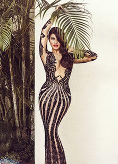 Jacqueline Fernandez Hot Vogue Magazine Photoshoot