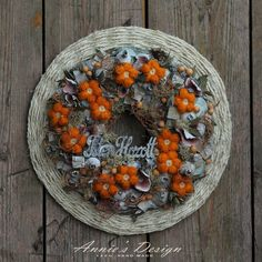 Wreaths, Pure Products, Fruit, Design, Home Decor, Mint, Autumn, Decoration Home, Door Wreaths