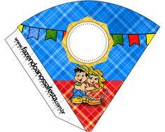 Cone Guloseimas Festa Junina  Aniversario Junino dbb93fc08e1