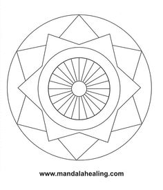 Free Mandala Templates Would Have To Simplify A Few Of The Lines