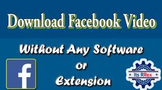 Facebook Video, Software