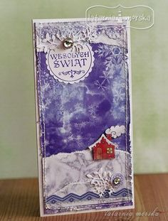 Latarnia Morska - as usual very artsy. Cardmaking, Christmas Cards, Greeting Cards, Artsy, Scrapbooking, Creative, Blog, Noel, Christmas E Cards