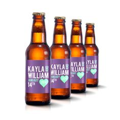 Custom Beer Bottle Labels Personalized Wedding By Liquidcourage