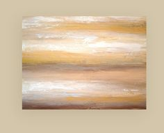 Large Acrylic Abstract Neutral Painting Titled by OraBirenbaumArt, $485.00