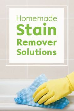 For the toughest stains around the house, like pet stains, red wine, oil, and grease, you can often use common household ingredients to completely remove it. If you keep these 3 cleaning instructions from Bounty Paper Towels and your home well stocked with 10 simple supplies, you'll be set to tackle any mess.