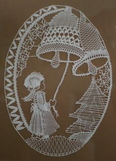 Bilder | Guckmalrein Kebaya Lace, Merry Christmas Gif, Bobbin Lace Patterns, Lace Heart, Lace Jewelry, Needle Lace, String Art, Lace Detail, Crochet