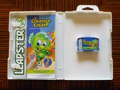 """LeapFrog Leapster, Leapster2 Game Cartridge """"Creature Create"""" SHIPS FREE!"""
