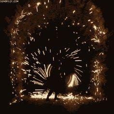 GIF: Spinning Sparks   bohemianizm