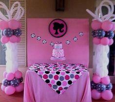 barbie bday barbie theme barbie birthday decoration balloons barbie ...