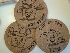 Cork pot rests:)