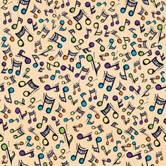 Joanna Fink (of Zenspirations fame): Music Backgrounds, Cute Wallpaper Backgrounds, Wallpapers, Music Images, Music Pictures, Binder Cover Templates, Music Notes Background, Music Notes Art, Vintage Flowers Wallpaper