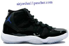 huge discount b2b5e 22d88 Air Jordan 11 Retro Space Jams Noir Varsity Royal Blanc Chaussures Air  Jordan 11 Concord,