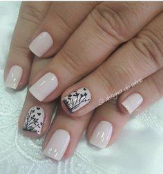Ma G Cute Nails, Pretty Nails, Neutral Nails, Fall Nail Designs, Simple Nails, Manicure And Pedicure, Hair And Nails, Simple Designs, Hair Beauty