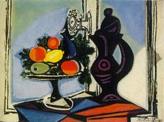 "Pablo Picasso - ""Still life with pitcher"", 1937"