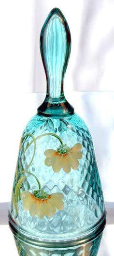 RP: Aqua Crystal Dinner Bell | eBay.com